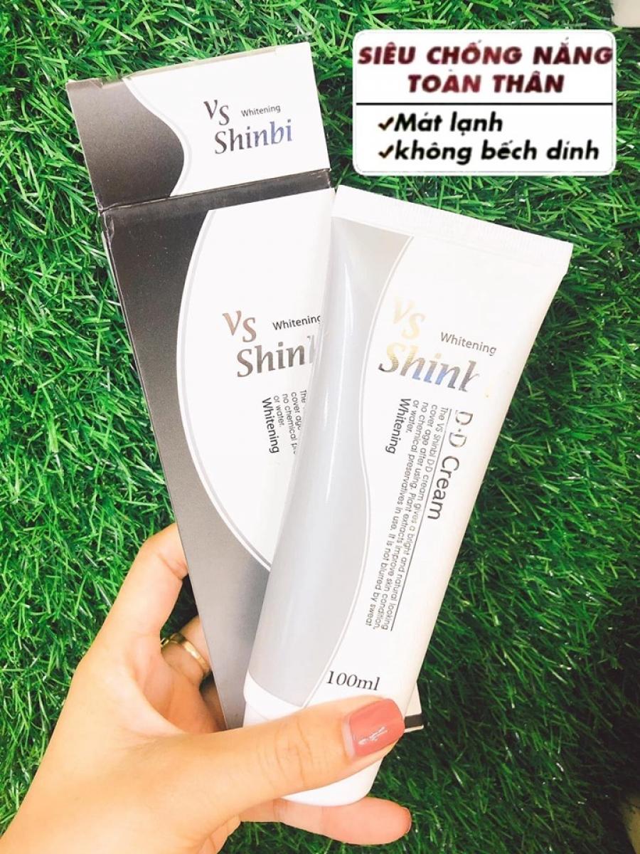 Sữa chống nắng DD cream Shinbi