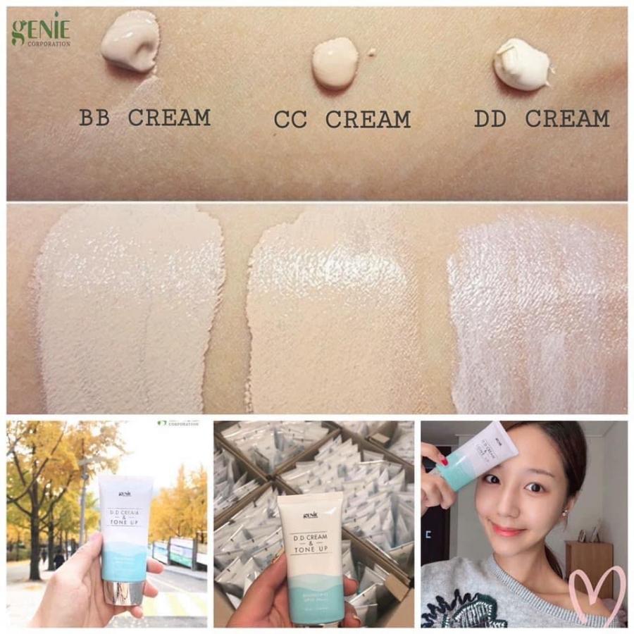 DD cream là gì khác biệt sao với BB CC